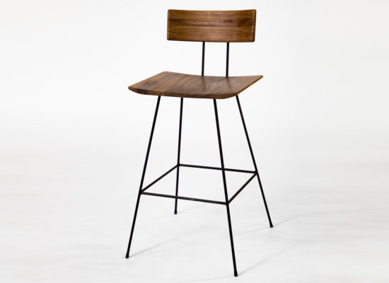 Bar Chair 01 Walnut