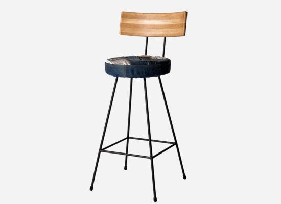 Bar Chair Denim