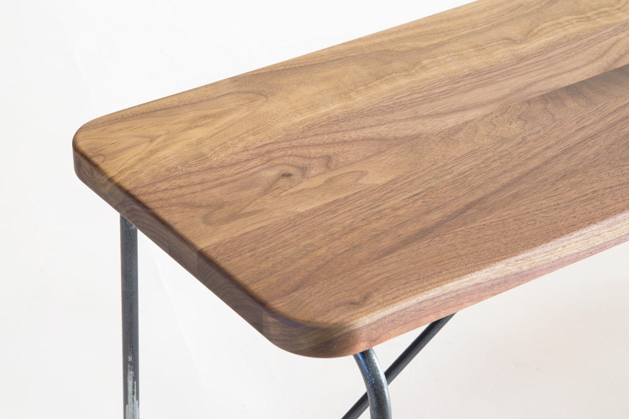 STOMP Bench Walnut