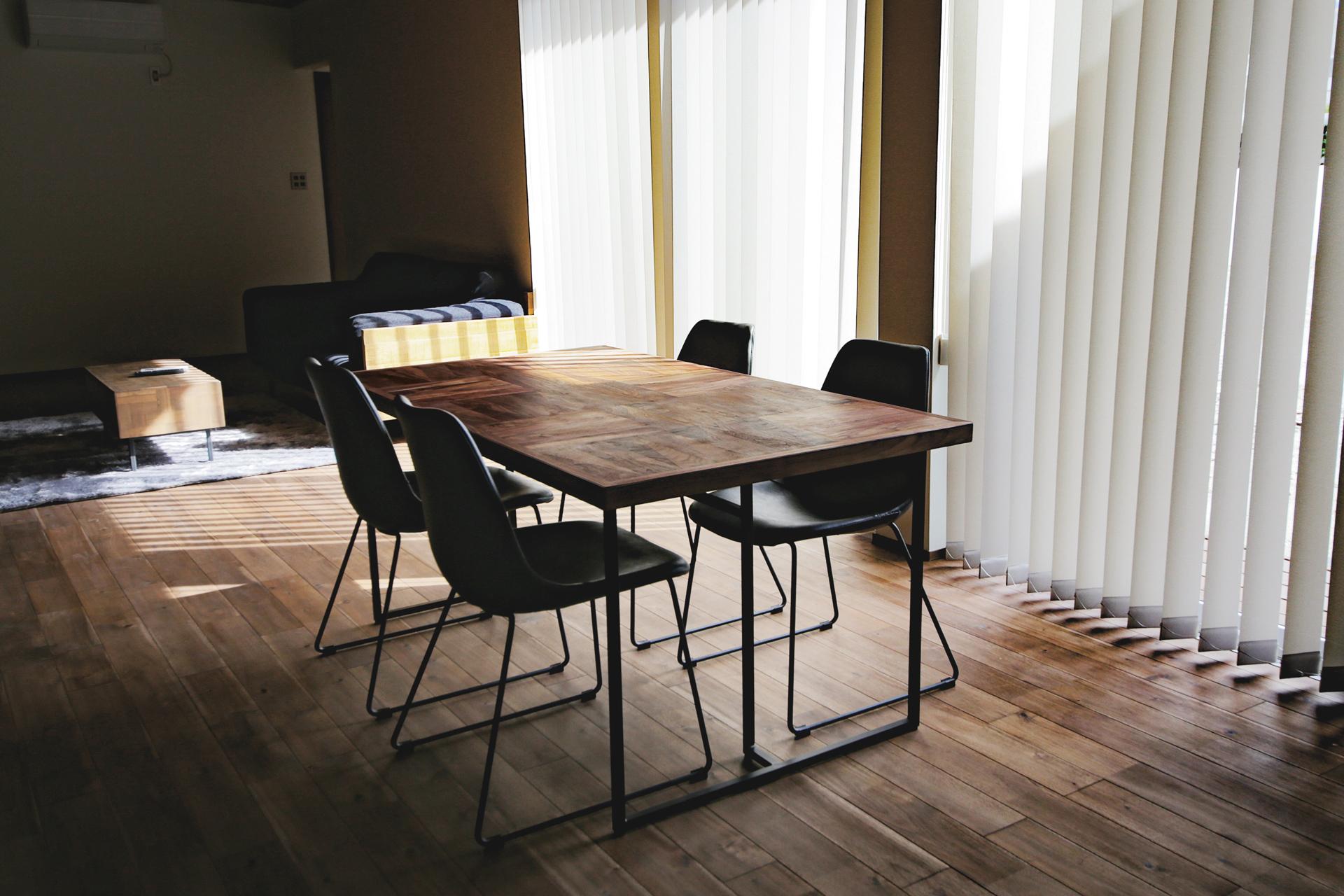 PARCS Dining Table オーダー納品事例