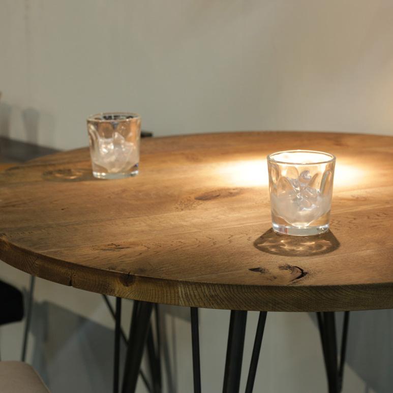 ZELDA Bar Table Oak004