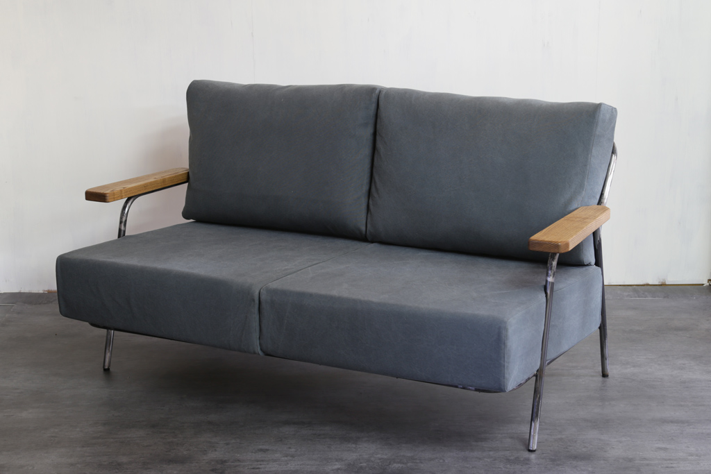 Canvas Sofa Bench